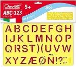 Quercetti Stencils ABC-123