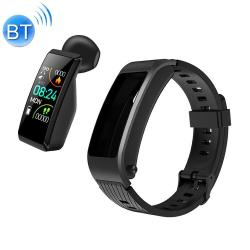S2 1.08 Inch Tft Color Screen Smart Watch Silicone Strap IP67 Waterproof Support Call Reminder heart Rate Monitoring sleep Monitoring blood Oxygen Monitoring blood Pressure Monitoring Black