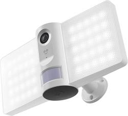 USA Geeni Sentry Floodlight Security Camera With Motion Sensor Intruder Alarm And Audio Video Recording