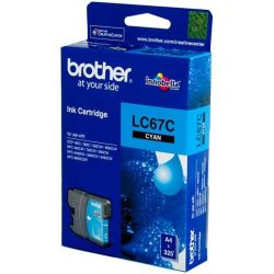 Brother LC67C Cyan Ink Cartridge