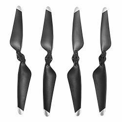 Contixo 4-PCS Main Blades Propellers Extra Spare Replacement Parts F24 Rc Quadcopter Drones Black