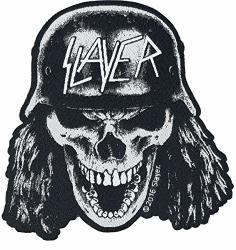 Razamataz Slayer Die Cut Wehrmacht Skull Patch Thrash Metal Music Woven Sew On Applique