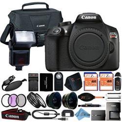 Canon Eos Rebel T6 18mp Digital Slr Camera Retail Packaging 24 Piece Bundle Body Only R9732 00 Digital Camera Bundles Pricecheck Sa