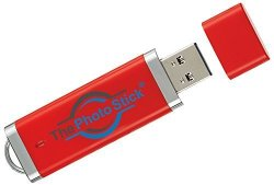 ThePhotoStick 256GB Easy One Click Photo and Video Backup 256GB Mac Windows