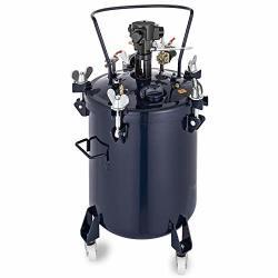 VEVOR Pressure Paint Pot 10 Gallon 40 Liters Pressure Pot Tank Spray Paint Pressure Pot Tank With Manual Mixing Agitator Paint T