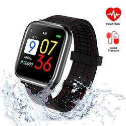 Sportsking Fitness Tracker With Blood Pressure Monitor Activity Tracker With Heart Rate Monitor Waterproof Watch Swimming Running Sleep Monitor Pedo
