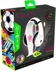 Stealth Xp - Gaming Headset Street Bundle With Stand - White Pc gaming