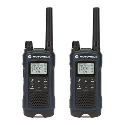 Motorola Talkabout T460 Rechargeable Two-way Radio Pair Dark Blue
