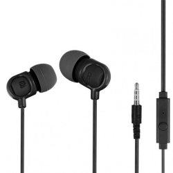 Bounce Jive Earphones With Mic in Black