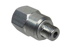"""ICT Billet Ls 1 8"""" Npt Coolant Temperature Sensor Adapter - Engine Swap M12-1.5 LS1 Lsx LS3 551159"""