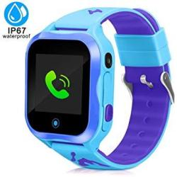 4bf847c4c5fe04 DUIWOIM Kids Smart Watch Accurate Gps Tracker Phone Watches For Children  Girls Boys 1.44 Inch Touch