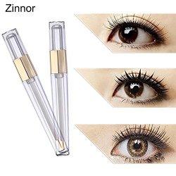 d63f0ff2a96 Zinnor Eyelash Growth Serum Liquid Serum Enhancer Eye Lash Longer Thicker  Lashes & Brows Eyelash Best Eyebrow Serum For Fuller E