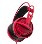 SteelSeries Siberia 200 28hz 112db 3.5mm Red Stereo Headset
