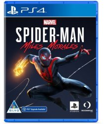 SIEE Marvel's Spider-man: Miles Morales PS4 PS5 Upgrade Available