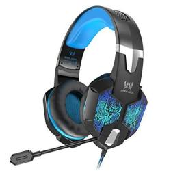 VersionTECH  Gaming Headset For Xbox ONE PS4 Controller PC Wired Surround  Sound Gaming Headphones With Noise Cancelling MIC Rgb | R1039 00 |