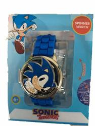 Kids Spinner LED Watch Sonic The Hedgehog