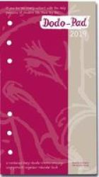 Dodo Pad Filofax-compatible 2019 Personal Organiser Refill Diary - Week To View Calendar Year - Diary-doodle-message-engagement-organiser With Room For Up To 5 People& 39 S Appointments activities Diary 53RD Revised Edition