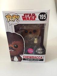 Funko Pop Star Wars: The Last Jedi - Chewbacca Flocked - Fye Exclusive