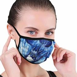 Skin-friendly Mouth Mask For Boys Girls How To Train Your Dragon 3 Toothless Blue Painting Face Masks With Elastic Ear Loops Sun Protection Hiking