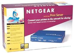 Netgear PS110 10 100 Print Server With 2 Parallel Ports