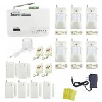 In -color Global Universal Wireless GSM Home Security Alarm System