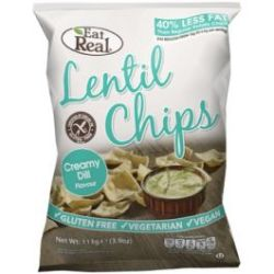 Eat Real Lentil Chips - Creamy Dill
