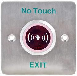 Uhppote No Touch Infrared Sensor Exit Button Door Release Buttons Switch No nc com