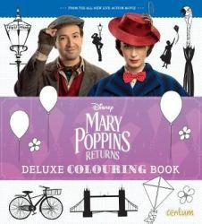 Disney Mary Poppins Returns Deluxe Colouring Book