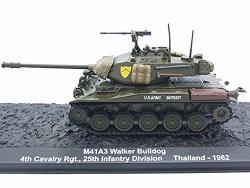 Altaya M41 A3 Walker Bulldog Light Tank 1962 Year 1 72 Scale Collectible Diecast Model