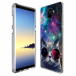 Case For Samsung Galaxy S9 Penard Series Clear Scratch-resistant Shock Absorption Flexible Protective Cover Samsung Galaxy S9 Phone Case Galaxy Cat
