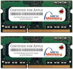 Arch Memory Replacement For Apple 8 Gb 2 X 4 Gb 204-PIN DDR3 Sodimm RAM For Mac MINI Core I5 2.5 Ghz Late 2012 MD387LL A
