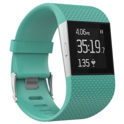Men's Silicone Strap For Fitbit Surge - Frost Blue