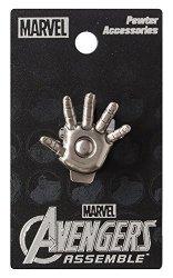 Monogram International Marvel Iron Man Palm Pewter Lapel Pin