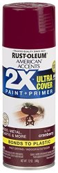 Rust-oleum 327893-6 Pk American Accents Spray Paint Gloss Cranberry