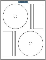 1500 Cd DVD Labels Brand Fits Memorex Full Core Compatible. Economy Matte Labels. 2 Labels Per Sheet Small Centers Only. Ink Jet & Laser Compatible