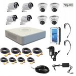 CCTV System 8 Channel 720p Ahd Kit With 1tb Hard Drive