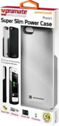Promate POWERCASEI5 Iphone 5 Slim-fit Cutaway Design Case With In-built 2600MAH Battery For Iphone 5 -silver Retail Box 1 Year W