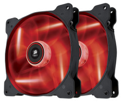 Corsair 140mm Sp140 LED x2 Red