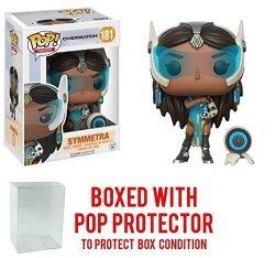 Funko Pop Games: Overwatch - Symmetra Vinyl Figure Bundled With Pop Box Protector Case