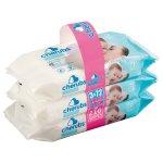 Cherubs - Sensitive Lightly Fragranced Baby Wipes 3X72S