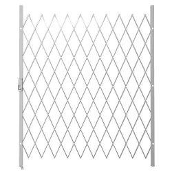 Saftidor F Slamlock Security Gate - 1600MM X 2000MM White