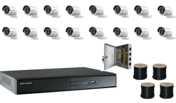 Hikvision 1080P 16 Channel Turbo HD CCTV Kit with 2TB Hard Drive