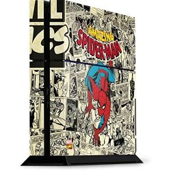 Skinit Marvel Spider-man PS4 Console Skin - Amazing Spider-man Comic