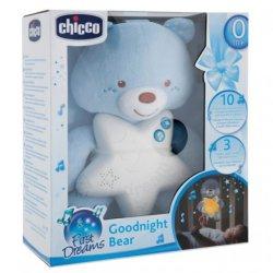 First Dreams Goodnight Bear - Blue