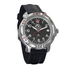 Vostok Komandirskie Russian Tank Forces Army Mechanical Mens Military Commander Wrist Watch 811306