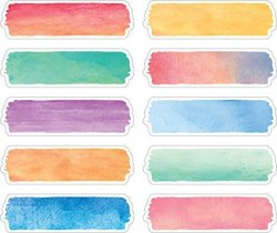 Teacher Created Resources Watercolor Labels TCR20873
