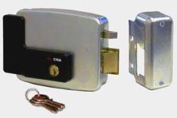 Cisa Electronic Rim Lock Rh Out Open