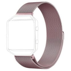 Milanese Band For Fitbit Blaze - Pink Size: S m