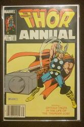 Thor Annual 11 Comic Book - 1ST Appearance Of Eitri Peter Dinklage - Vg fn Newsstand Edition - Avengers Infinity War