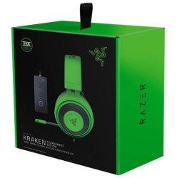 Razer - Kraken Tournament Ed Gaming Headset - Green Pc gaming